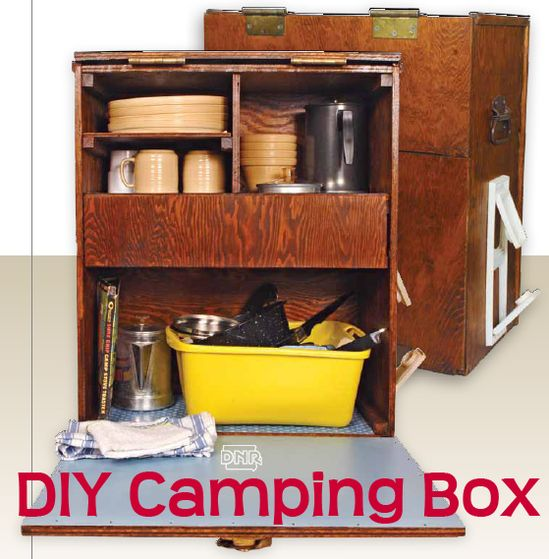 DIY Camp Cook Box (complete with GREAT printable plans)