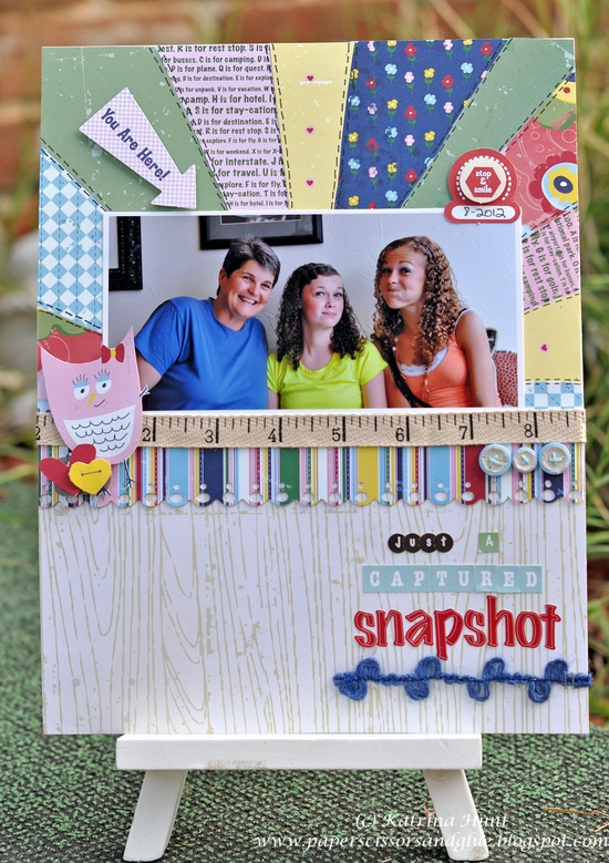 Just a Captured Snapshot-Nikki Sivils, Scrapbooker - Scrapbook.com