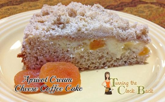 A lightly sweet coffee cake with a hint of fruit and spice.  Delicious!