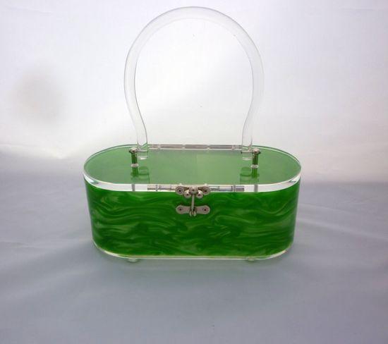 Green lucite beauty.