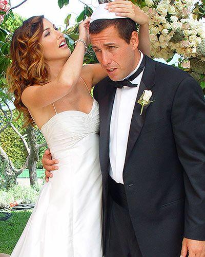 Adam Sandler and Jackie Titone 2003
