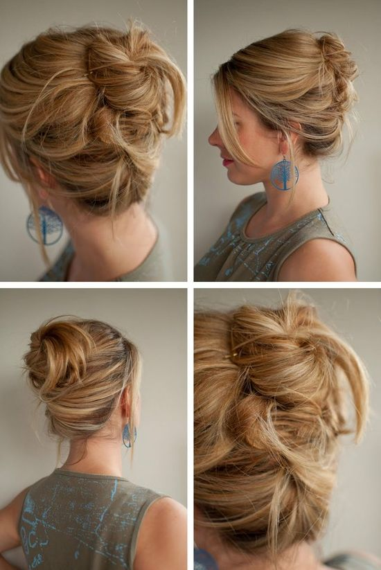 30 Days of Twist & Pin Hairstyles - Click image to find more Women's Fashion Pinterest pins