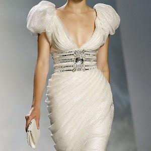 Rhinestone knee lenght tulle sexy wedding dress
