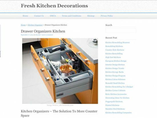Fresh Kitchen Decorations