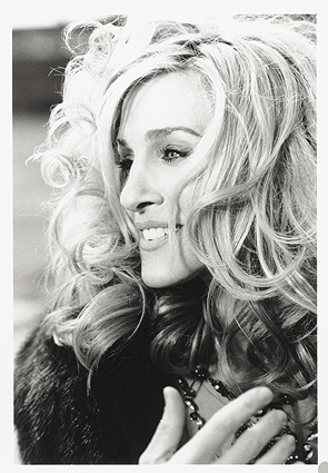 Carrie Bradshaw from Sex and the City.