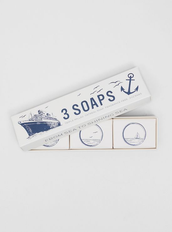 3 soaps