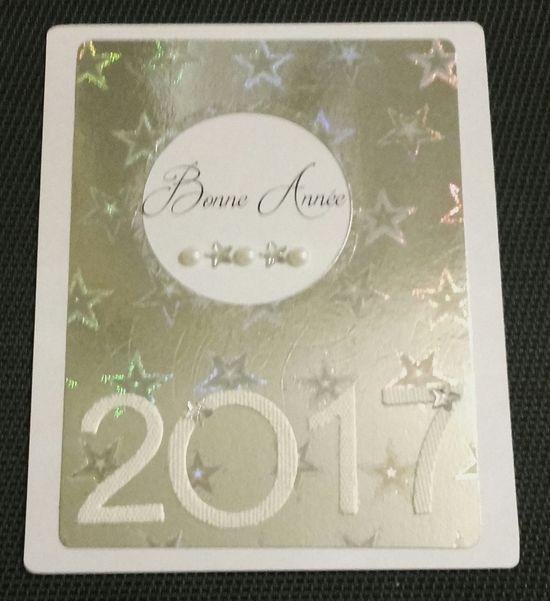 carte bonne année ar