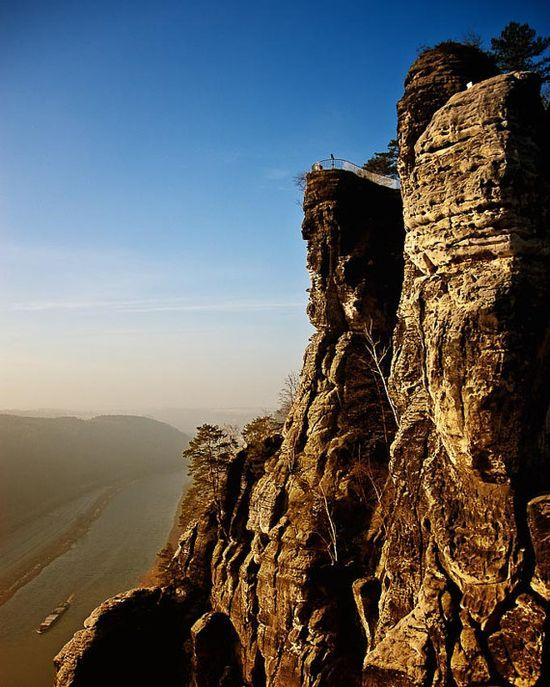 THE TRAVEL COLLECTION photograph Bastei Germany by