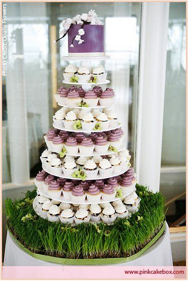 guide to cupcake wedding cakes