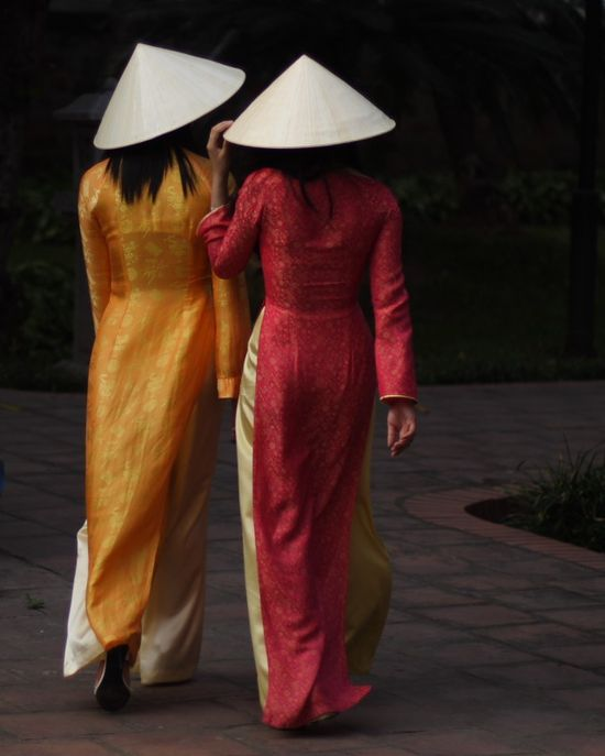 Ao Dai...The #Vietnamese National #Costume