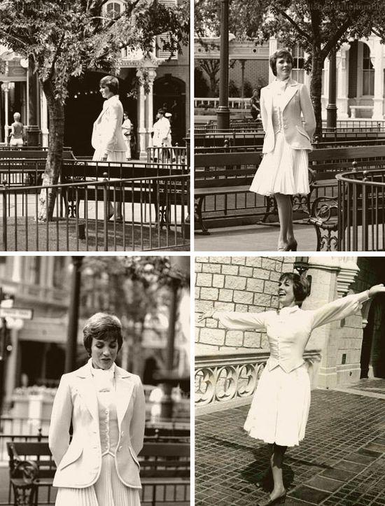 Julie Andrews at Disneyland