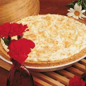 No-Cook Coconut Pie Recipe