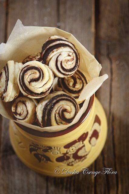 Cocoa swirls