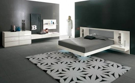 Very contemporary.. but loving the clean lines and the floating bed is very fun and classy ?