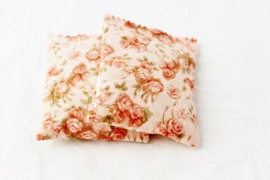 Rose Floral Lavender Sachets Pink Country Cottage  $15.00, via Etsy.