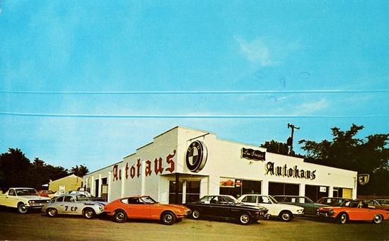 Autohaus BMW, Alfa Romeo, Datsun, Fairborn, Ohio, 1971