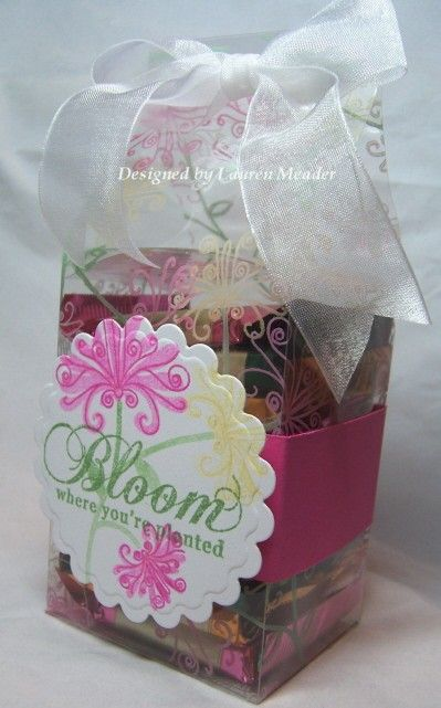 Ghiradelli gift wrapper