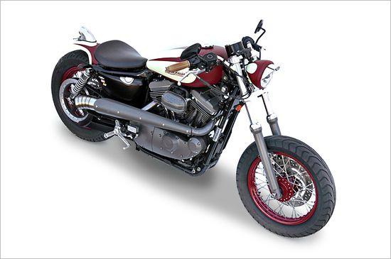 Deus ex Machina New Blood Harley Sportster - via Pipeburn