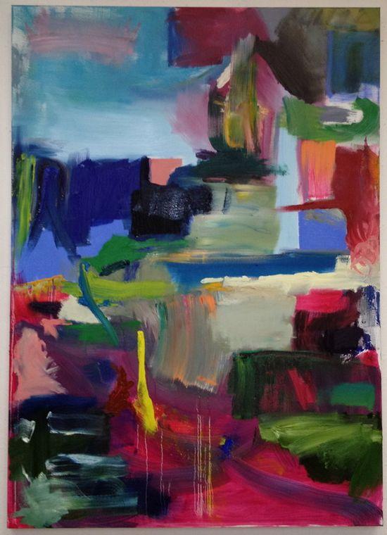 "Saatchi Online #Artist: Fahar #Al-salih; Oil, 2012, Painting ""yellow """