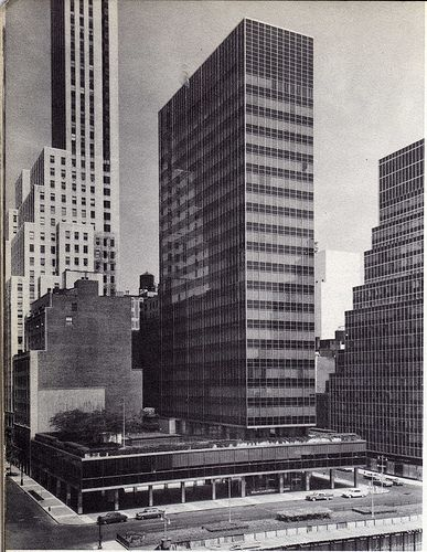 lever house and du pont building 1958