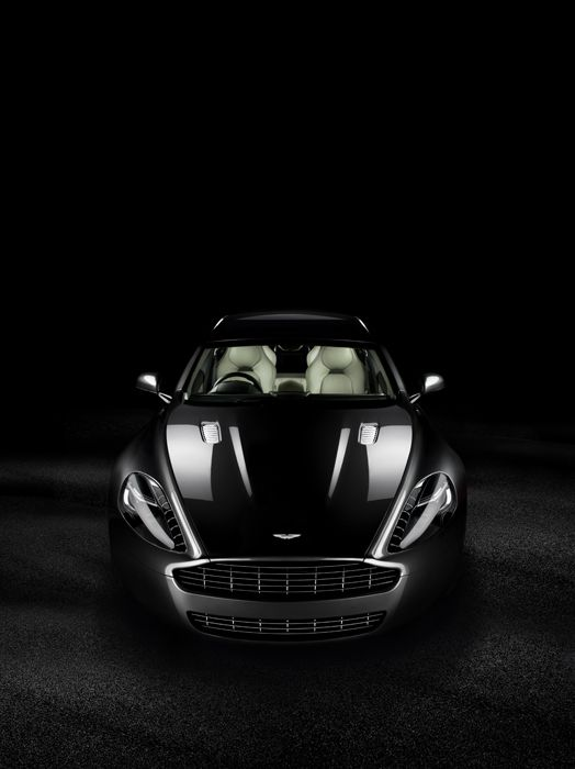 Aston Martin Rapide by Tim Wallace, via Behance
