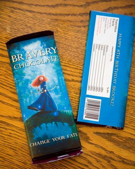 Brave chocolate bars #brave #chocolate haha
