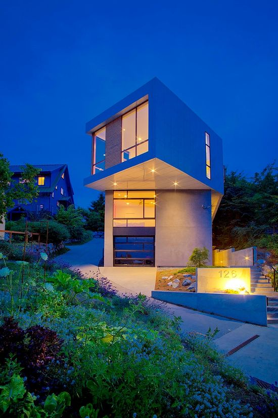 Cool modern house