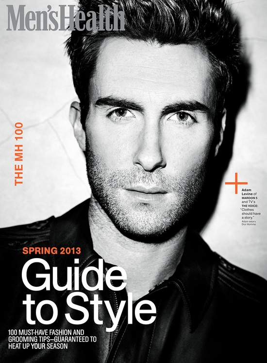 Adam Levine Mens Health Guide to style