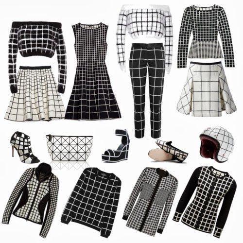 inspiration and realisation: DIY fashion blog: DIY Rodarte grid sweater