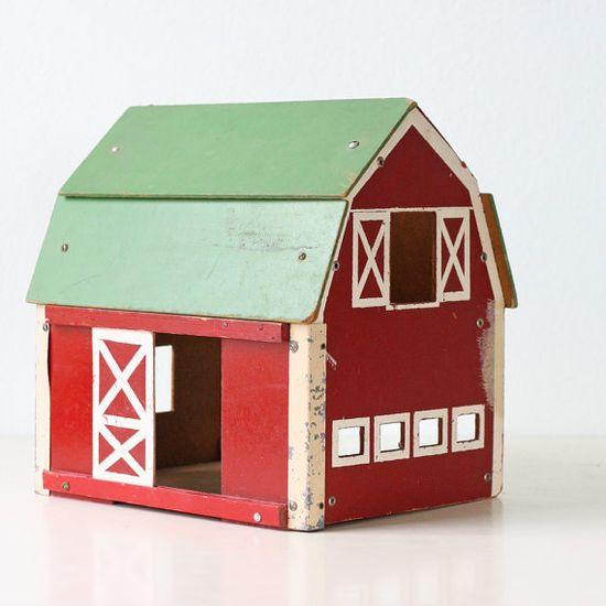 Vintage Toy Barn by bellalulu on Etsy