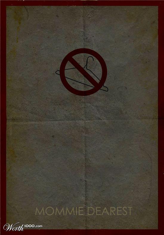 Minimalist Movie Poster -- No wire hangers!!