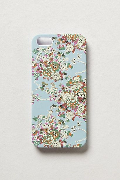 floral iphone 5 case / anthropologie