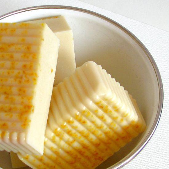 Organic Honey & Lemon Zest soap