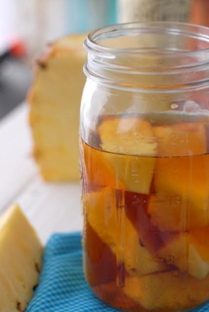 Homemade Pineapple Infused Rum
