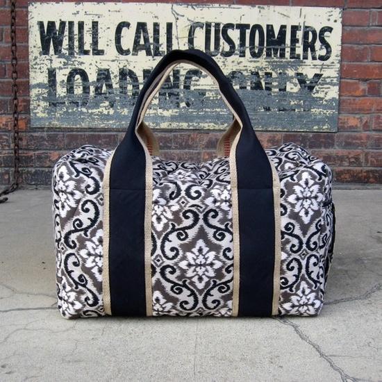 ikat travel bag