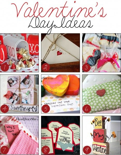 over 50 Valentine's Day Ideas