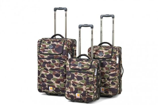 Carhartt WIP x UDG Camouflage Luggage Collection