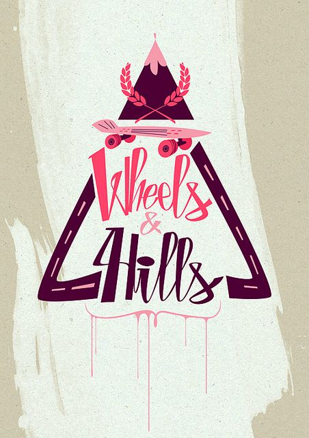 Wheels and Hills by Fantastic Hysteria, via Flickr