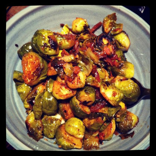 Gotta love brussel sprouts