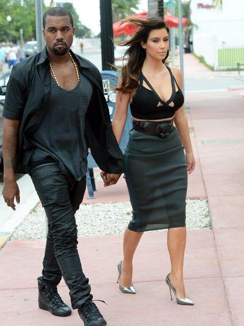 Couples Who Dress Alike: Kim Kardashian & Kanye West