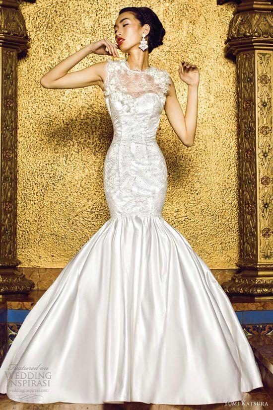 yumi katsura bridal 2013 nairobi mermaid wedding dress