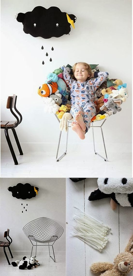 Grosgrain: More Stuffed Animal Recycling Ideas!