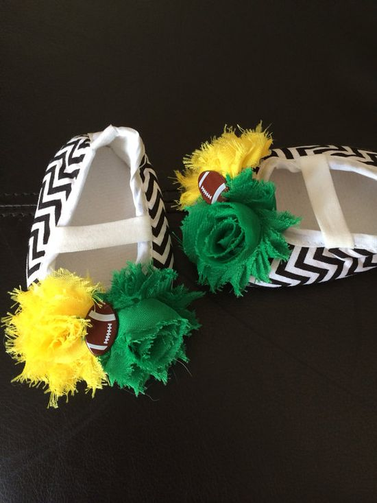 Cute baby Packers shoes!