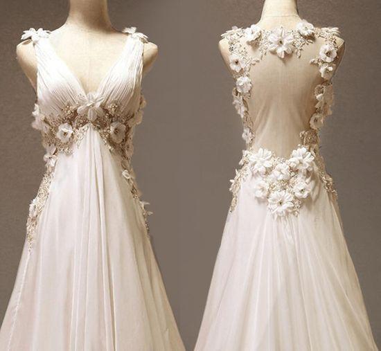 Photos of antique wedding dresses