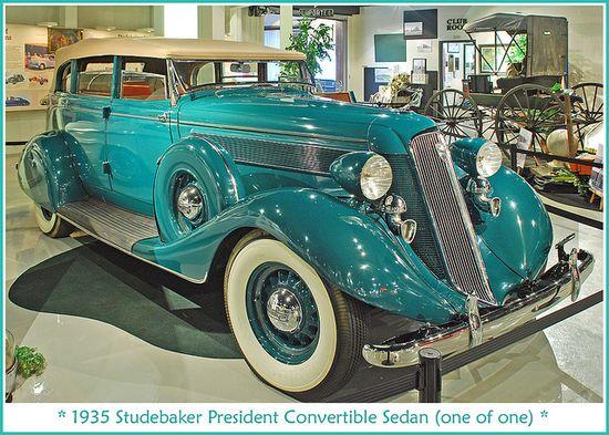 1935 Studebaker President