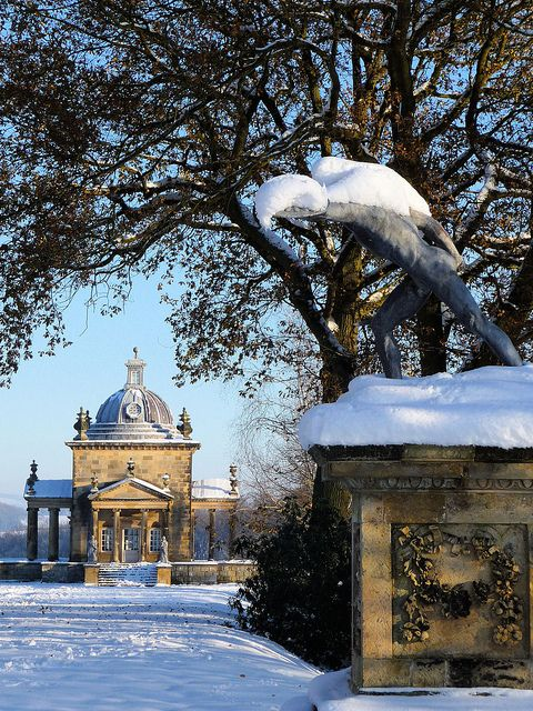 Temple of the Four Winds, Castle Howard, Yorkshire, England