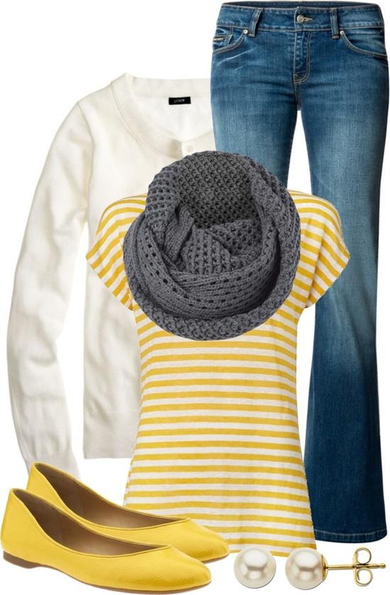 """""""Yellow & Gray"""""""