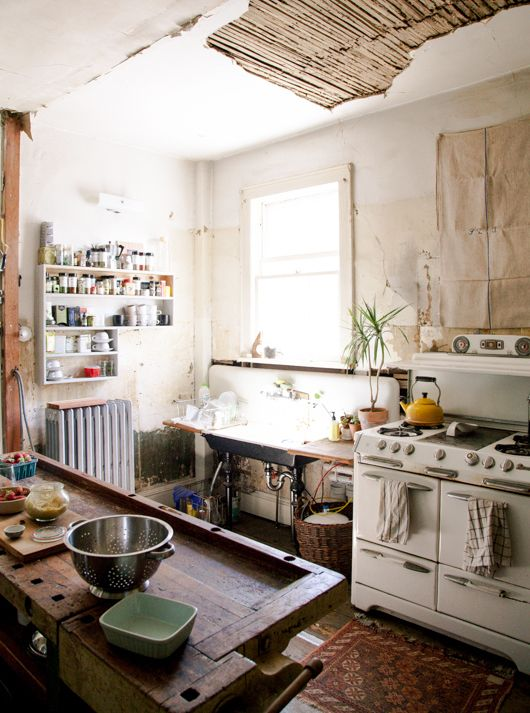 The best kitchen is a used kitchen.