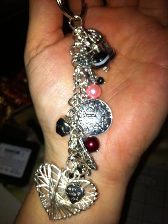 Handmade charm / keyring