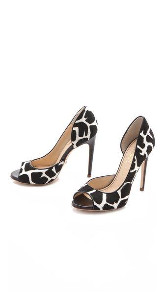 Animal peep toe : )